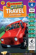 Summer Splash Travel Activity Book: Grade 4