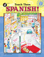 Teach Them Spanish!, Grade 4 (ebook)
