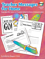 Teacher Messages for Home (English)