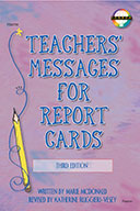 Teachers' Messages For Report Cards, Grades K - 8 (ebook)