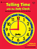Telling Time With The Judy® Clock, Grades K - 3 (ebook)