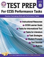 Test Prep For Ccss Performance Tasks, Grade 8 (ebook)