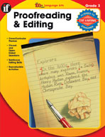 The 100+ Series Proofreading and Editing, Grade 3