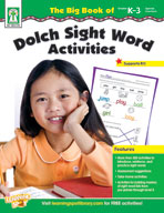 The Big Book of Dolch Sight Word Activities