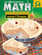 The Complete Book Of Math, Grades 3 - 4