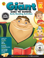 The Giant Goes To School: Early Reading Activities