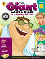 The Giant Makes A Splash: Early Reading Activities