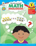 Thinking Kids Math Analogies, Grade 1