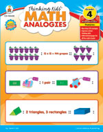 Thinking Kids Math Analogies, Grade 4