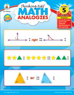 Thinking Kids Math Analogies, Grade 5
