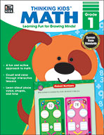 Thinking Kids Math , Grade 1 (eBook)
