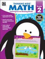 Thinking Kids Math , Grade 2 (eBook)