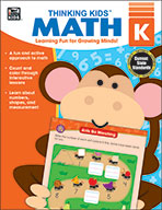 Thinking Kids Math , Kindergarten (eBook)