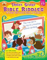 Tricky, Sticky, Bible Riddles, Grades 2-3