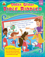 Tricky, Sticky, Bible Riddles, Grades 4-6
