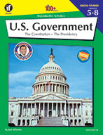 U.S. Government, Grades 5 - 8 (ebook)
