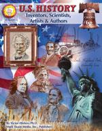 U.S. History: Inventors, Artists, Authors by Mark Twain Media