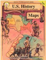 U.S. History Maps by Mark Twain Media