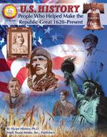 U.S. History: People (1620-Now) by Mark Twain Media