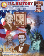 U.S. History: People and Events 1607-1865 by Mark Twain Media