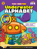Underwater Alphabet and Sea Shapes
