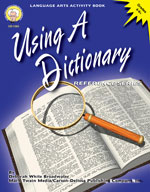 Using a Dictionary by Mark Twain Media