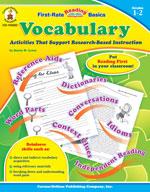 Vocabulary, Grades 1-2