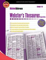 Webster's Thesaurus, Grades 4 - 8 (ebook)