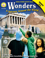 Wonders: A Journey Around the World by Mark Twain Media