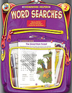 Word Searches, Grade 2