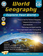 World Geography, Grades 5–8+ (ebook)