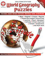 World Geography Puzzles by Mark Twain Media
