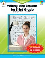 Writing Mini-Lessons, Grade 3