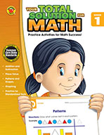 Your Total Solution For Math, Grade 1 (eBook)