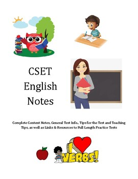 CSET English: Full Content Notes, Tips, and Resources