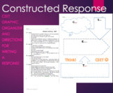 CSET Writing/Response Graphic Organizer Constructed Response