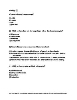 CSET Science 119 Practice Test