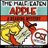 CSI: A Reading Mystery - HELP! The Half Eaten Apple
