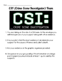 CSI Activity Worksheet-Who is to blame for the death of Ro