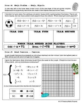 CSI: Algebra 2 & Pre-Calc -- Unit 2 -- Families of Functions