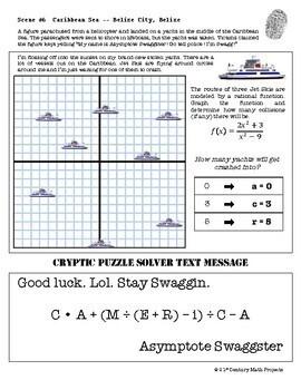 csi algebra 2 pre calc unit 5 rational functions tpt