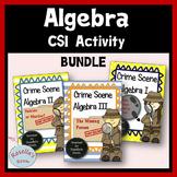 CSI Algebra BUNDLE