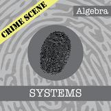 CSI: Algebra -- Unit 7 -- Systems -- Crime Scene