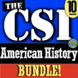 CSI American History: Lost Colony, Salem, Donner Party, Lincoln, Cuba, JFK, KKK!