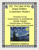 CSI: Case of The Shape Shifters