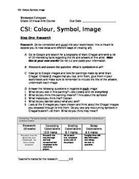 CSI- Colour, Symbol, Image