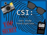 CSI: Core Study Investigations! Common Core Graphic Organizers for Any Story