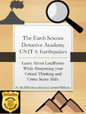 CSI Detective Unit: Learn about Earthquakes through Mystery