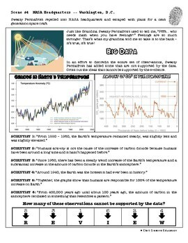 CSI: Earth Science - Global Warming - Identifying Fake News Activity