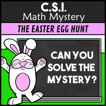 CSI: Easter Egg Hunt - Addition and Subtraction